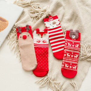 Cy/_ FT Winter Funny Animal Printed Flamingo Men Sock Elastic Cotton Adult Sock