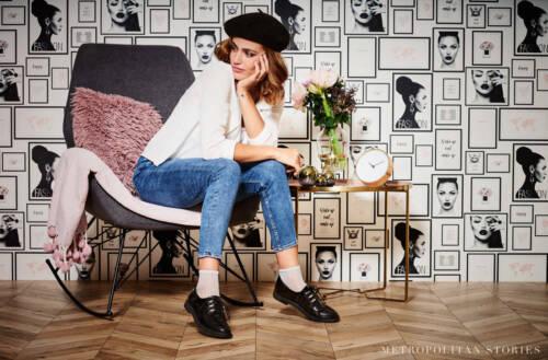 EUR 3,56//qm Tapete Fashion Model Girlie AS Creation Metropolitan 36918-1