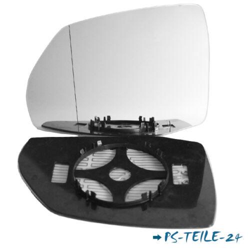 Spiegelglas für AUDI Q7 II 4M ab 2015 links asphärisch beheizbar elektrisch
