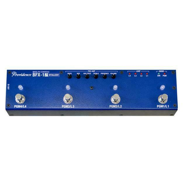 Providence Bass FX Console BFX-1 Programmable Effects Switcher