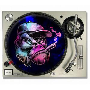 Gorilla-vinyl-DJ-SLIPMATS-Turntable-SLIP-MATS-X-2-TECHNICS-Humanz