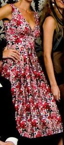 High-end-Rockabilly-Retro-Swing-Dress-039-The-Vintage-Closet-039-Pin-Up-Sz12-1950-039-s
