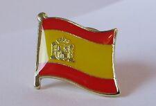 """SPAIN - Flag Pin Badge  High Quality Gloss Enamel - """"la Rojigualda"""""""