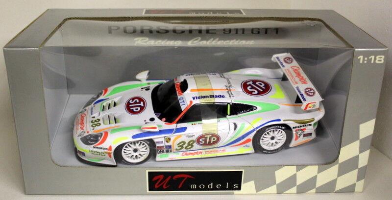 UT MODELS échelle 1 18 - 39817 PORSCHE 911 GT1 1999 STP  38 Diecast Voiture Modèle
