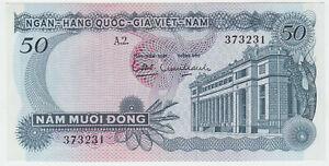 Vietnam-Viet-Nam-South-P-25-50-Dong-1969-aUNC