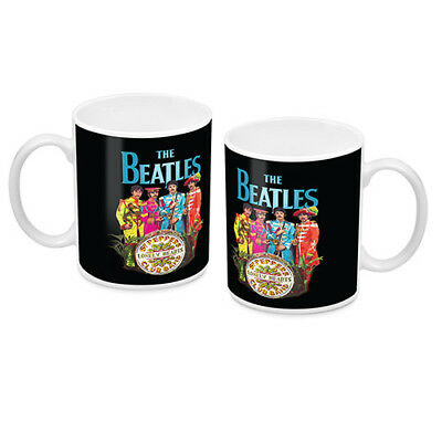 The Beatles Ceramic Coffee Mug Cup Official St Peppers Lonely Hearts Club Band