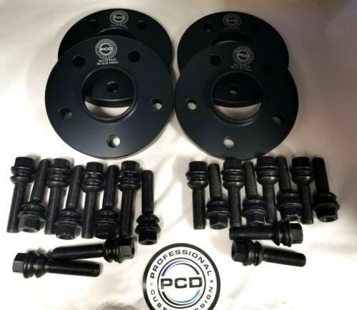 Par de espaciadores hubcentric 5x112 15mm/&20mm de ancho 66.5CB 20 Pernos De Rueda Audi Q8