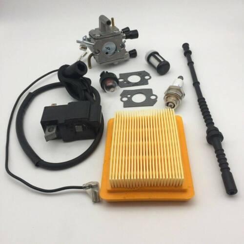 Vergaser Kraftstofffilter Kits Für Stihl  FS120 FS200 FS250 FS300 FS350 FS020