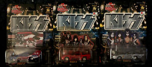 KISS-RACING-CHAMPIONS-Diecast-Lot-of-3-Issue-5-17-amp-20-Target-Exclusive-HTF