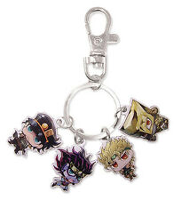 **License** JoJo Bizarre Adventure Jotaro Dio Stands Group Metal Keychain #85240