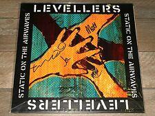 THE LEVELLERS STATIC ON THE AIRWAVES LP *RARE* 1st PRESS VINYL OTF UK 2012 LTD