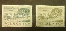 POLAND STAMPS MNH 1Fi1382a+b Sc1270-71 Mi1530-31 - Day of stamp, 1964, clean