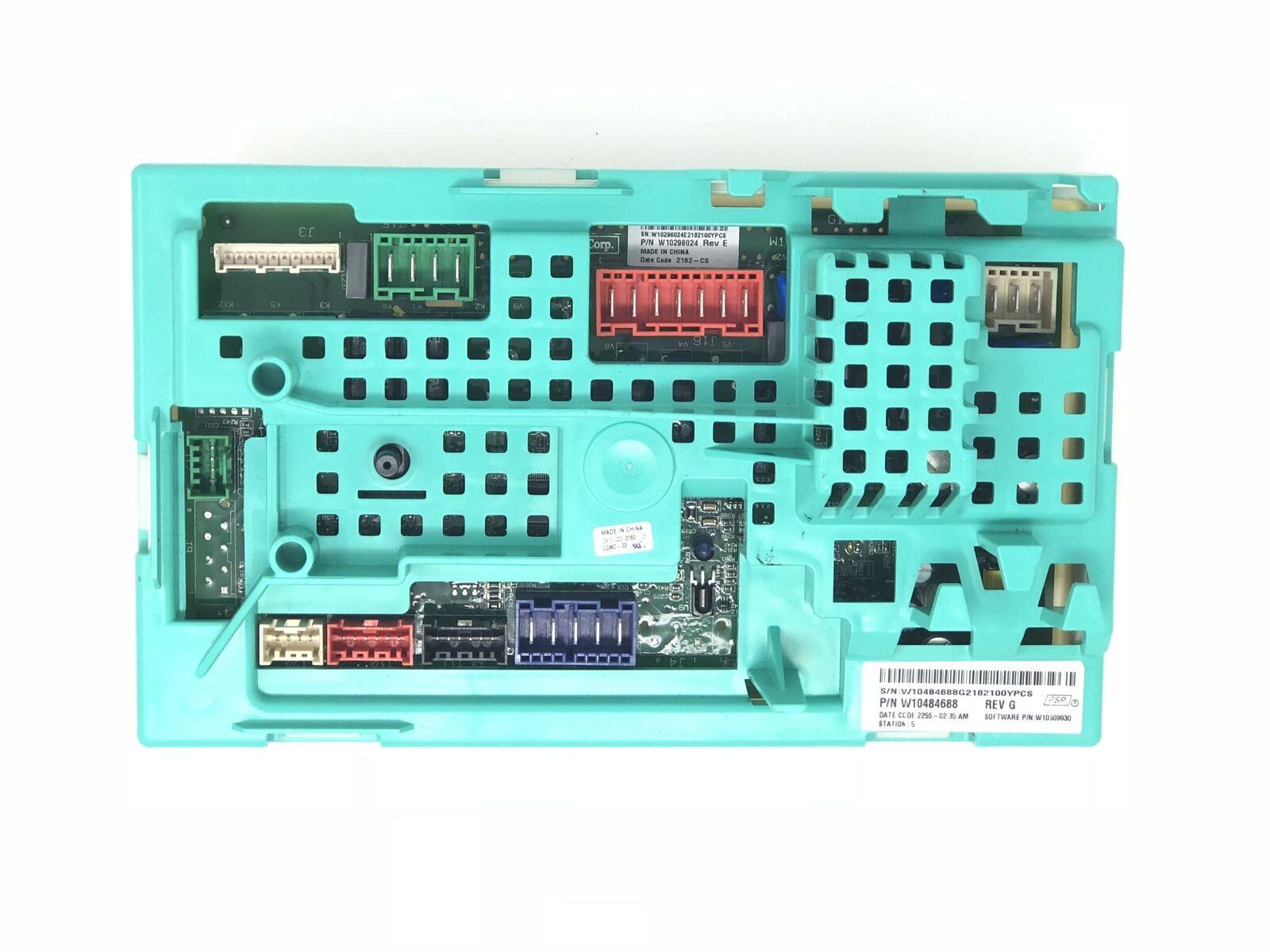 Whirlpool W10484688 Washing Machine Electronic Circuit Board