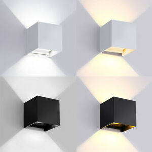 7W-12W-Cube-COB-LED-Wall-Light-IP65-Waterproof-Adjust-Angle-Up-Down-Sconce-Lamp