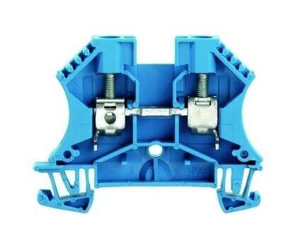 Weidmüller Reihenklemme 0,5-10qmm 1Etage blau 41A Direktmontage WDU6BL