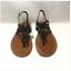 New-Women-s-Cloudwalkers-Braided-Demi-Wedge-Thong-Sandal-Black-Wide-Width thumbnail 2