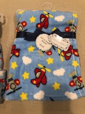 Zak And Zoey Soft Amp Snuggly Baby Blanket 30 Quot X 30