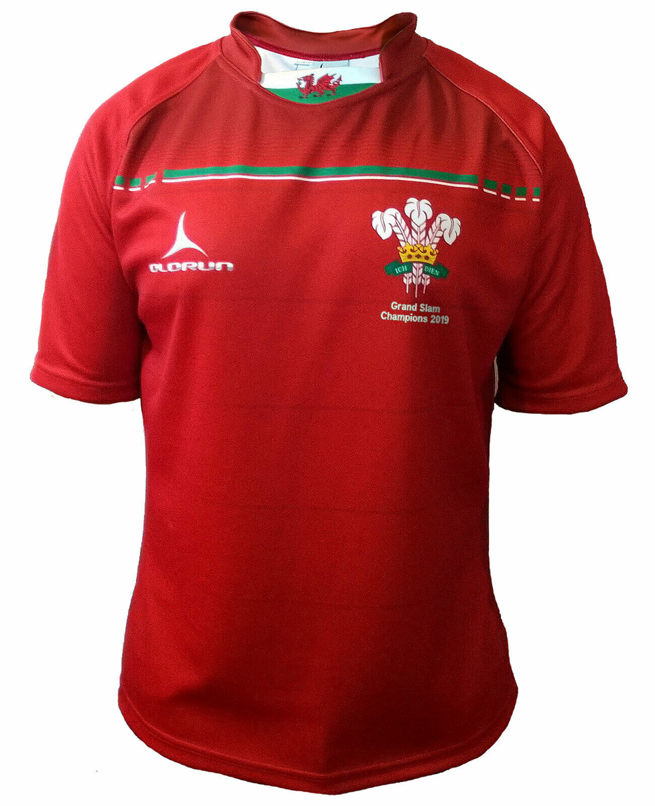 Olorun Wales Grand Slam 2019 Sublimated Rugby Shirt S-7XL