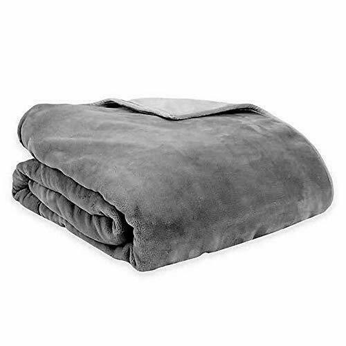Therapedic Reversible 16 lb. Medium Weighted Blanket - Grey - GallyHo