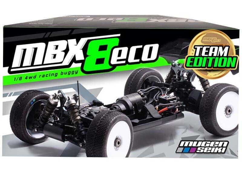 Mugen Seiki 1 8 EP 4WD MBX-8 ECO squadra edizione