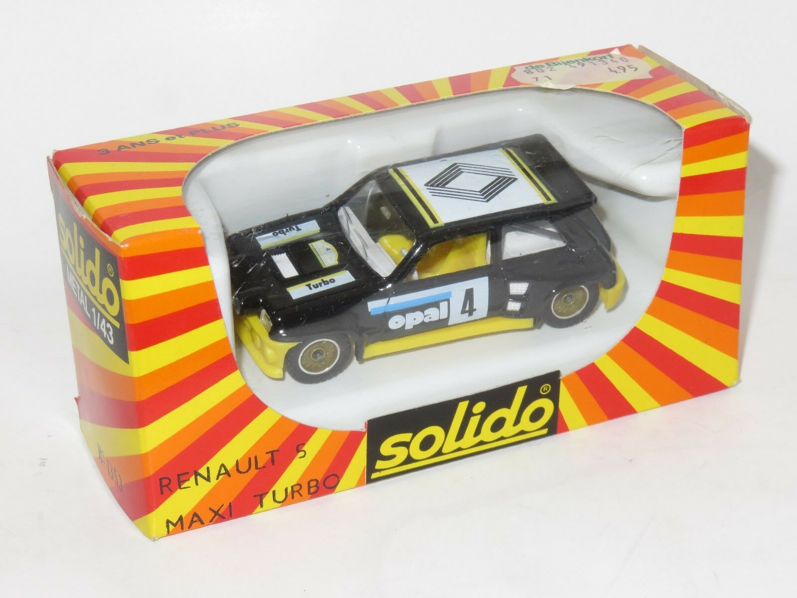 1 43 Solido 1980`s Renault 5 Maxi Turbo  Opal