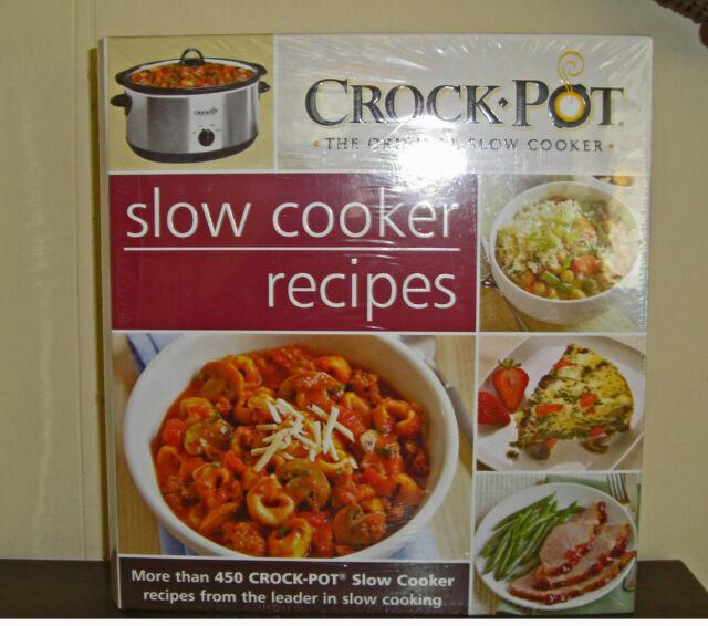 Crockpot Original Slow Cooker Recipe Book 450 Recipes 5 Ring Binder For Sale Online Ebay