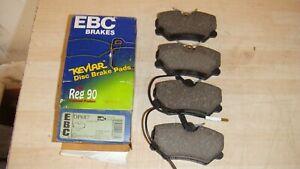 PEUGEOT-405-EBC-STANDARD-FRONT-BRAKE-PADS-P-N-DP687-QUALITY-BRAKE-PADS