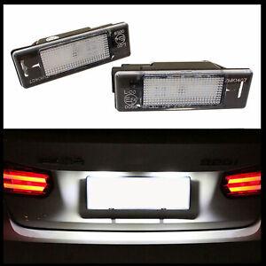 Per Citroen C2 C3 C4 C5 C6 C8 DS3 Jumpy 2x LED Premium Luce Targa