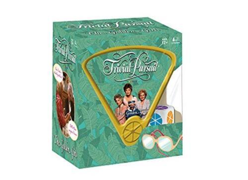 Trivial Pursuit Golden Girls Trivia GameGolden Girls TV Show Themed Game