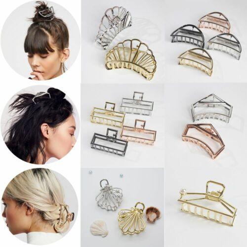 metall spange haarspangen macher stilvolle frauen die haare brötchen