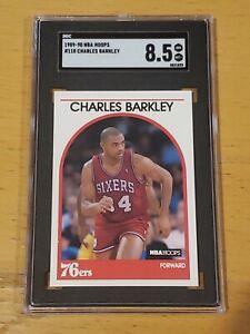 1989 NBA Hoops #110 SGC 8.5 Charles Barkley Newly Graded