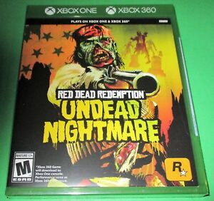 Red Dead Redemption Undead Nightmare Microsoft Xbox 360 Xbox One