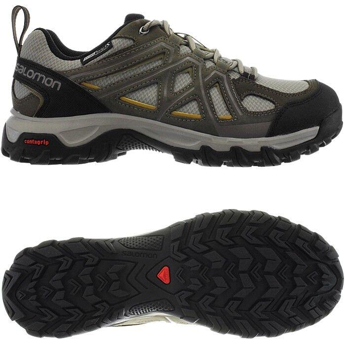 Salomon Evasion 2 CS WP khaki Men's hiking trekking shoes waterproof NEW