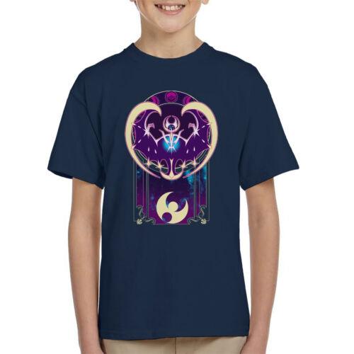 Pokemon Laluna Art Of The Moon Kid/'s T-Shirt