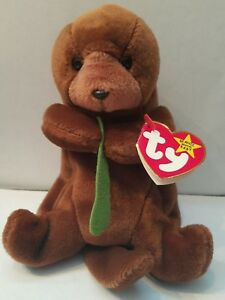 ba3fc14d971 Image is loading Seaweed-Beanie-Baby-1996-Ty-Retired-Rare-with-