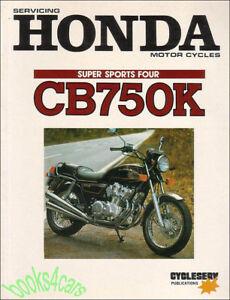 shop manual honda cb750k service repair book cb750 dohc ebay rh ebay com cb750 sohc shop manual cb 750 service manual