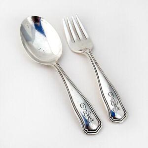 Buckingham Narrow by Shreve Sterling Silver Salt Spoon Master Custom Made 3 12