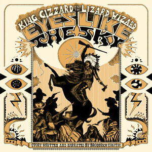 KING-GIZZARD-amp-THE-LIZARD-WIZARD-EYES-LIKE-THE-SKY-NEW-ORANGE-VINYL-LP