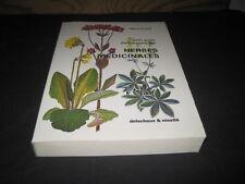 Hans FLUCK: petit guide panoramique des herbes médicinales. Delachaux et Niestlé