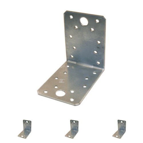 Winkelverbinder Winkel mit ohne Sicke Kombiloch verzinkt Lochplattenwinkel Holz