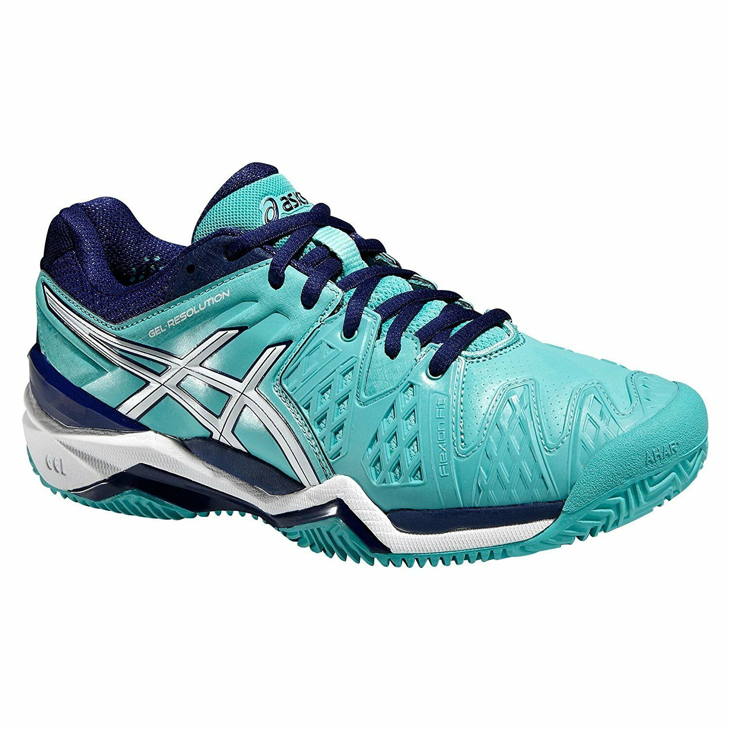 ASICS Gel-Resolution 6 CLAY donna   da tennis Gravel  Sabbia spazio ASICS e553y