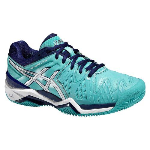 de Chaussures Asics Gel Clay Resolution pour Gravel Sand tennis E553y 6 Femme Court IwHHXRxq