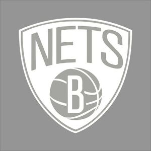 Brooklyn Nets NBA Team Logo Color Vinyl Decal Sticker Car - Custom vinyl decals brooklyn
