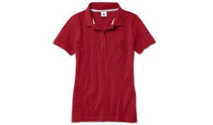 Bmw Logo Poloshirt Original Rot Shirt Polo Damen TZaxxwFq