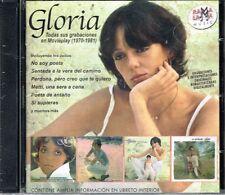 Gloria Todas sus Grabaciones en MOVIEPLAY 1970-1981 BRAND NEW 2 CDS SET