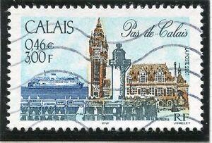 2019 Nouveau Style Stamp / Timbre France Oblitere N° 3401 Calais