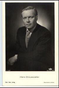 HANS-BRAUSEWETTER-Schauspieler-ca-1950-60-Portraet-AK-Postkarte-Film-Buehne