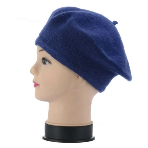 Children Kids Girls Beret Hat Winter Warm Beanie Toddler Newsboy Cap Fashion 1PC