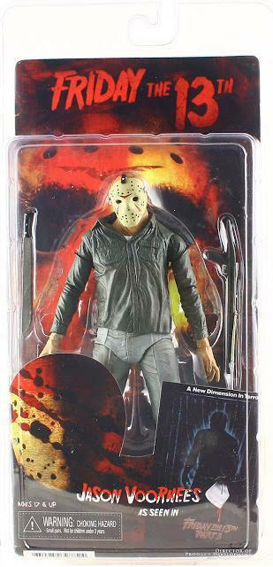 NECA - Friday the 13th - 7  Scale Action Figure - Part 3 Jason - Regular Version