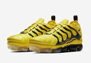 huge discount d8169 9c9b5 Details about Nike Men's Air Vapormax Plus Opti Yellow Black Bumblebee  BV6079-700